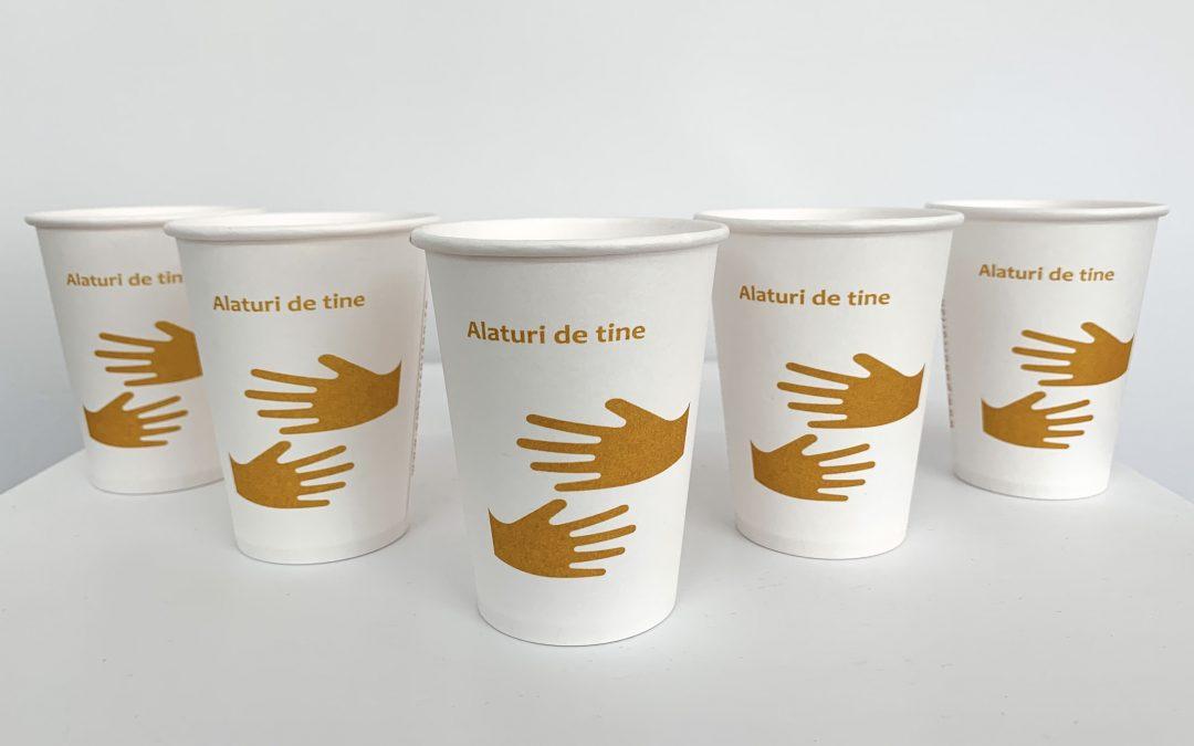 Donație pahare carton către Spitalul Clinic de Urgență Cluj!
